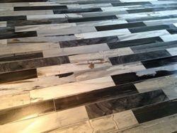 Italian tiles installation
