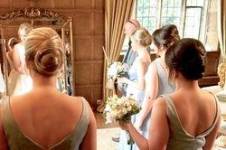Elegant Updo for bridesmaidsHengrave Hall Bury St Edmunds Suffolk