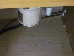 Kitchen Cabinet Under Sink (after)