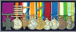The Medals Awarded.
