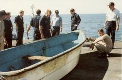 Boat found adrift at sea