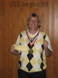 Theresa Prospero- Gold Flight, Low Gross 2010