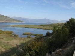 Prespa National Park in Albania.
