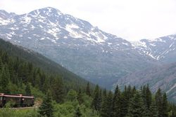 Whitehorse and Yukon Railway trip in Skagway