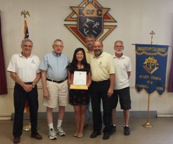 2015 Czapiga Scholarship