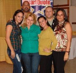 Pedro Andujar y su Equipo de Administradores