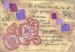 Jeremiah 29:11 (Print)