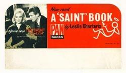 Pan Books Shop Display Card