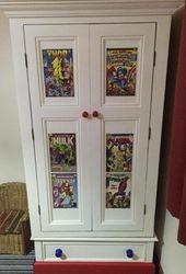 Superhero upcycled wardrobe