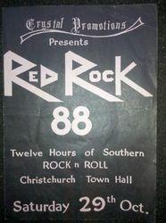 Red Rock Concert 1988 Christchurch