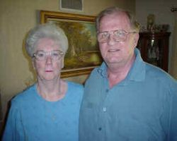 Ron Kent Downie (Son of Kyde Dunn) and wife Joyce Ann Reed