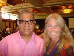 Dr. Deepak Chopra and Darlene Hintzen
