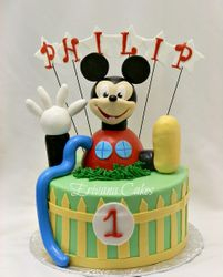 Mickey mouse clubhouse  cake 2