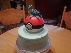 Pokemon Cake (Lapras)