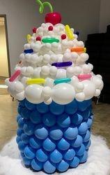 Balloon Cup Cake