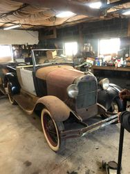 19. 29 Ford Model A