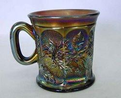 Dandelion mug, amethyst