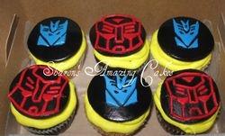 CC28 -Transformers Cupcaakes