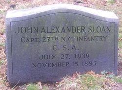 Capt. John A. Sloan