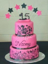 Sweet 15 cake(SP148)