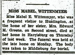 Wittenmyer, Mabel