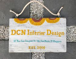 Interior Design firm sign