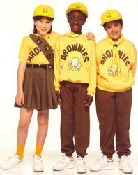 1990 Brownie Uniform