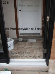 Tiling & New Doors