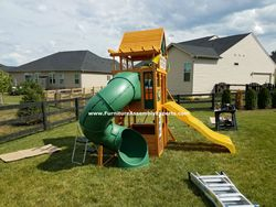 backyard discovery swing set assembly service in annapolis md