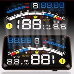 Car HUD Head Up OBD2 II Speedometer Display Projector Speeding Windshield.