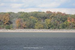 Van Wert Reservior Colors In The Trees & Shades In The Water