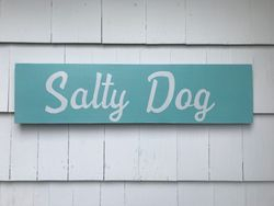 Salty Dog sign