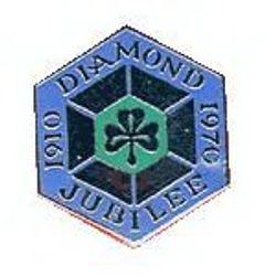 1970 Jubilee Metal Badge