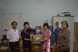 Donation of intensive care medical materials to YGH Intensive care department