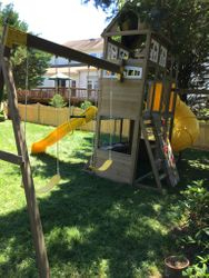 KidKraft Devonshire swing set assembly in fairfax Virginia