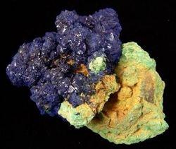 09-00415 Azurite Cluster on Malachite