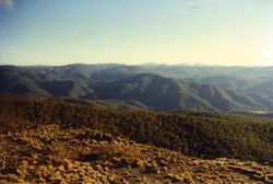 1996 the view from Mt Aggie