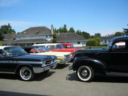 Some of the cars on the tour