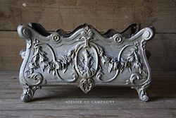 #29/259B FRENCH JARDINIERE SIVER
