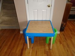 Fisher Price VINTAGE Table & Little Tikes Chairs Set - $50
