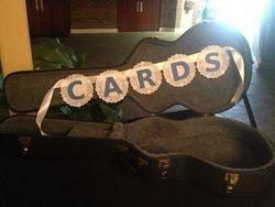 Guitar Case for Card Holder