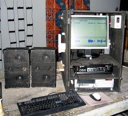 electronics for Audio Animatronic BEAR