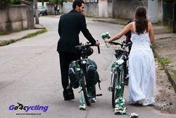 zo trouwt een wielrenner