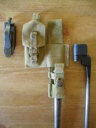 Bayonet frog and loading tool