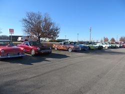 Hilton parking lot
