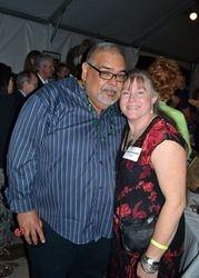 Jose Lozano and Marsha Judd