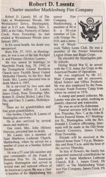 Launtz, Robert D. 2002