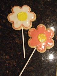 Flower Cookie Pop
