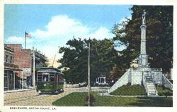 Confederate Monument Postcard
