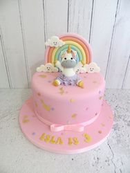 Unicorn in tutu Birthday Cake